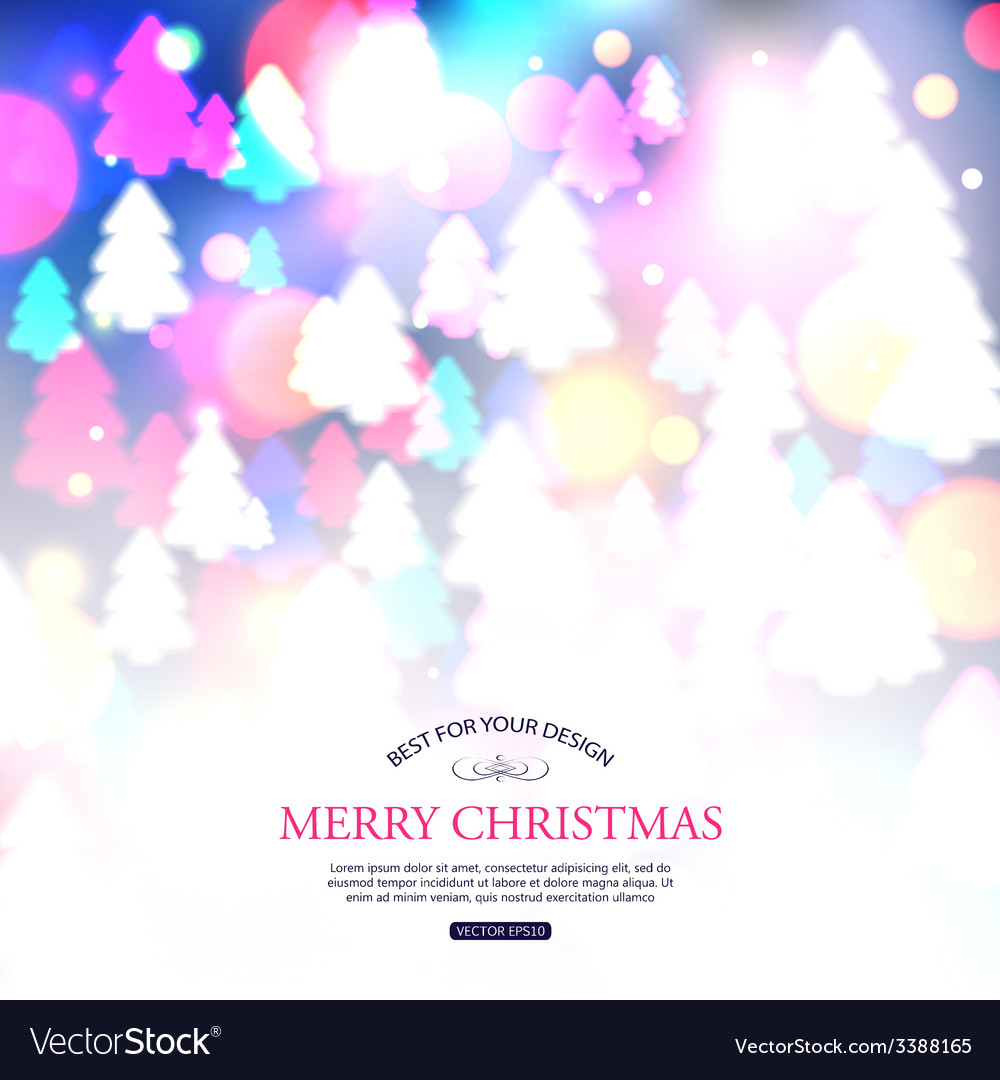Christmas shining typographical background with vector | Price: 1 Credit (USD $1)
