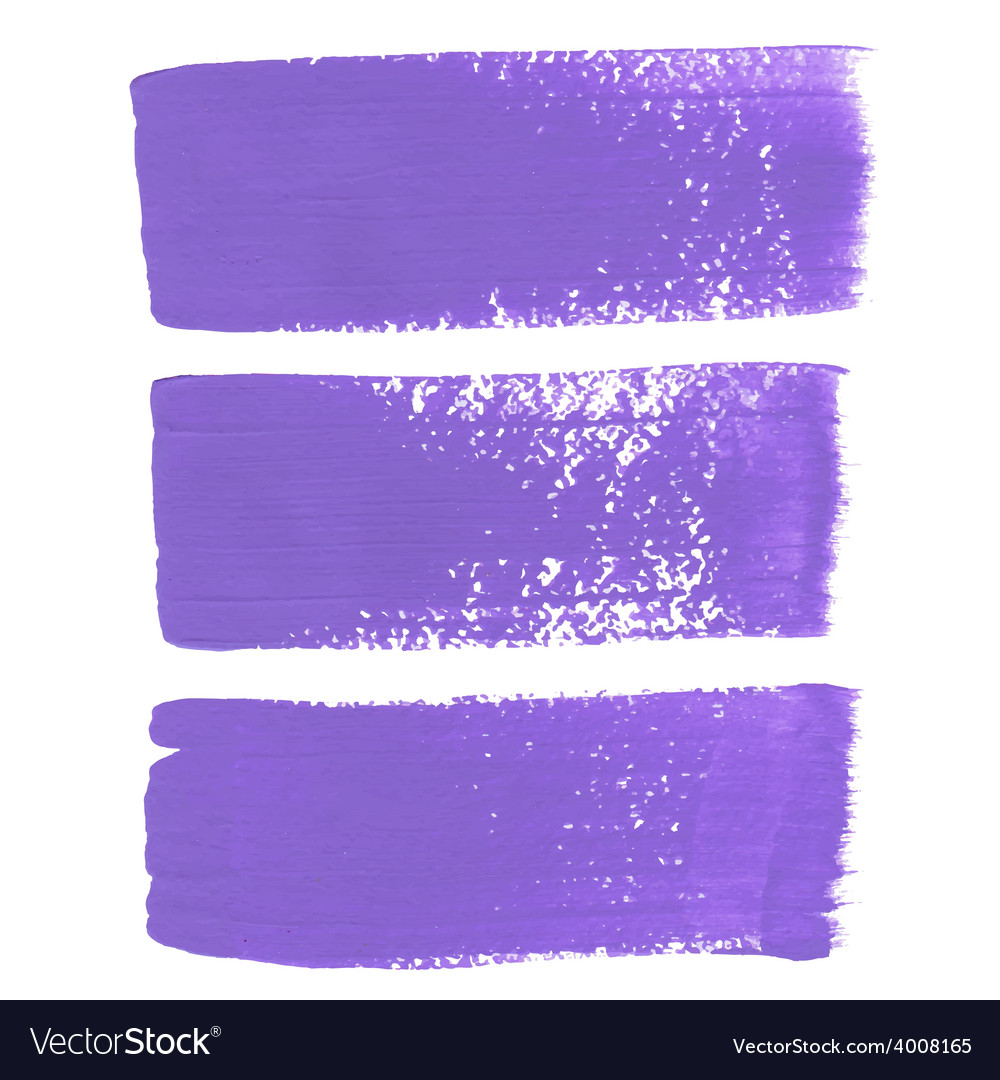 Lilac ink brush strokes vector | Price: 1 Credit (USD $1)