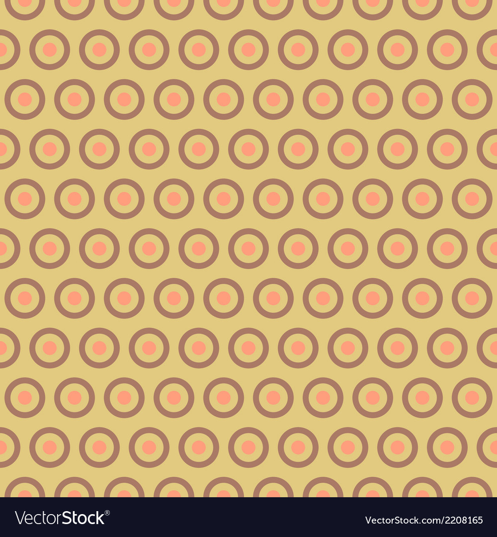 Tea abstract seamless pattern tiling with swatch vector | Price: 1 Credit (USD $1)