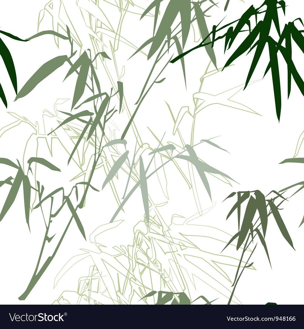 Bamboo floral seamless pattern background vector   Price: 1 Credit (USD $1)
