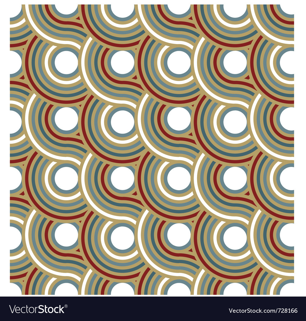 Circle spiral pattern background vector | Price: 1 Credit (USD $1)