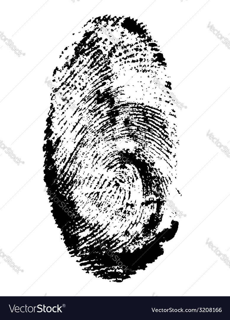 Fingerprint 01 vector | Price: 1 Credit (USD $1)