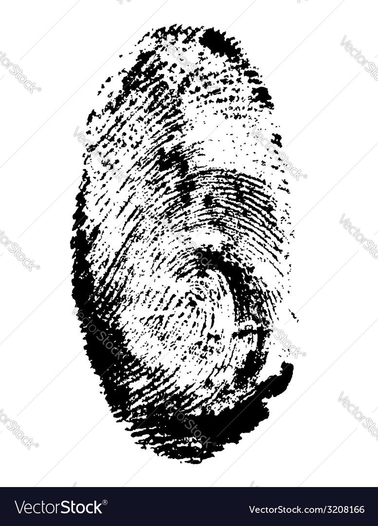 Fingerprint 01 vector | Price: 1 Credit (USD $1)