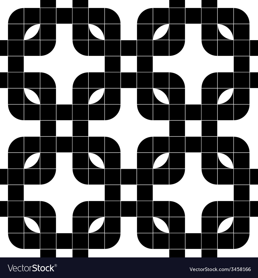 Ornate mosaic seamless pattern geometric vector | Price: 1 Credit (USD $1)