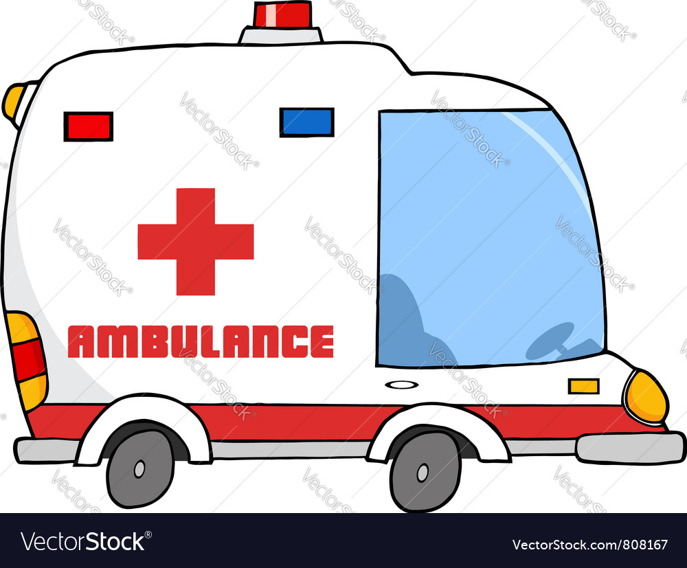Ambulance vehicle vector | Price: 1 Credit (USD $1)