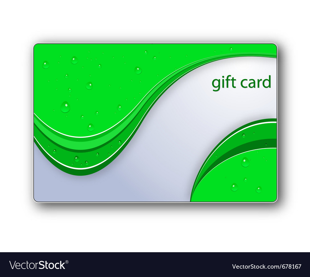 Gift card background vector | Price: 1 Credit (USD $1)