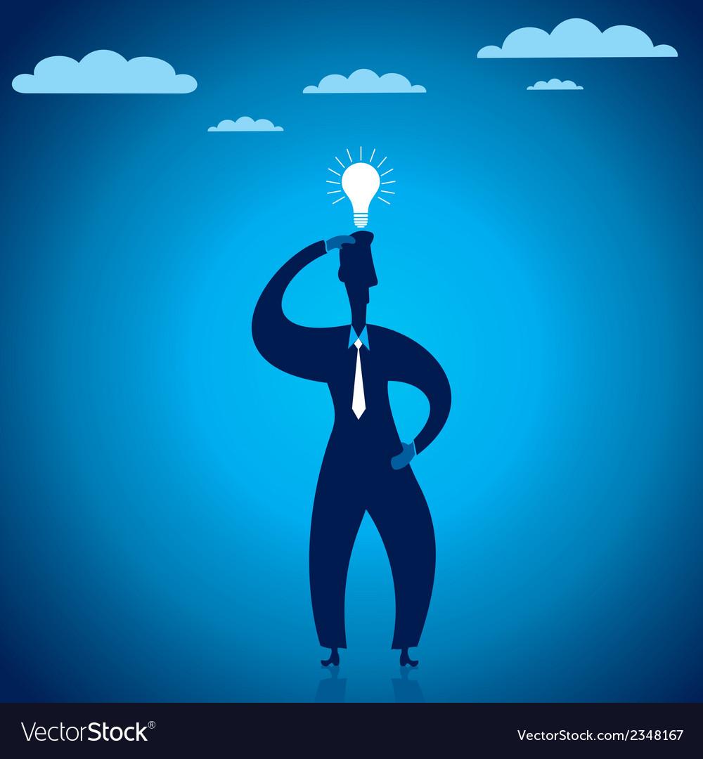 New ideas in businessmen vector | Price: 1 Credit (USD $1)