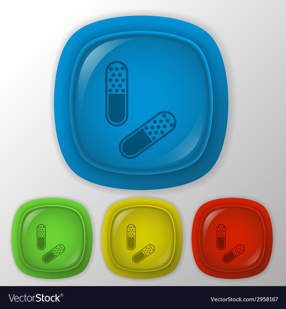 Pill tablet vector | Price: 1 Credit (USD $1)