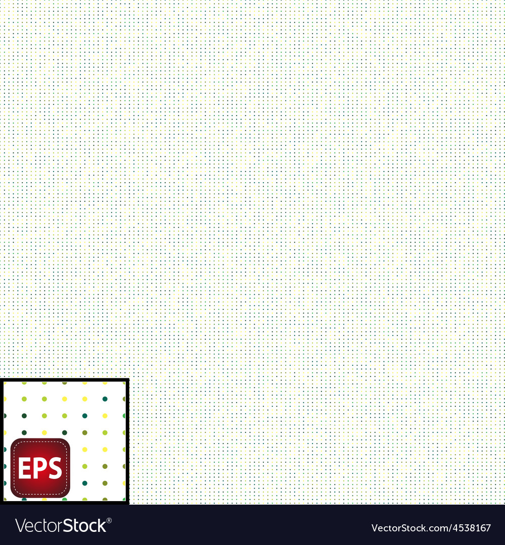 Seamless pattern casual polka dot texture vector | Price: 1 Credit (USD $1)