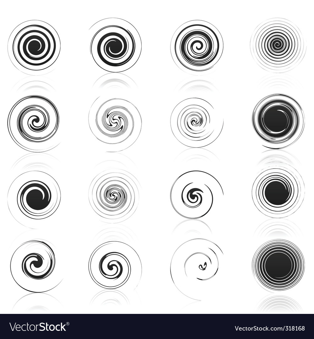 Spiral icon vector | Price: 1 Credit (USD $1)
