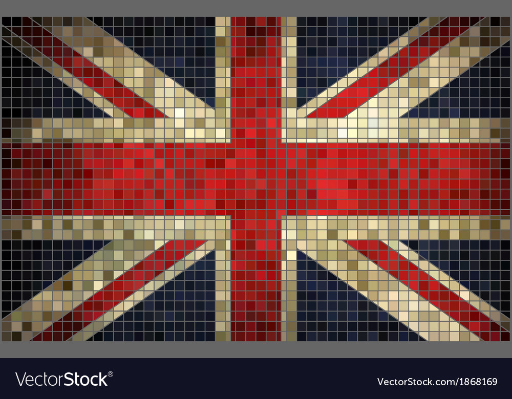 Flag of great britain vector | Price: 1 Credit (USD $1)