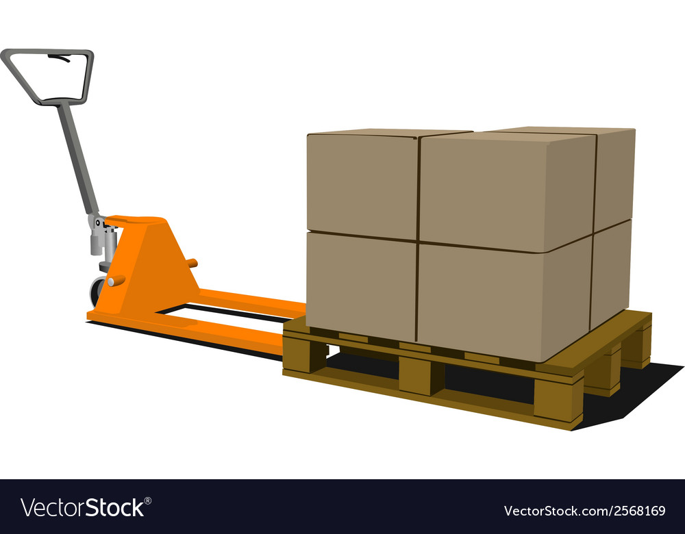 Forklift 002 vector | Price: 1 Credit (USD $1)