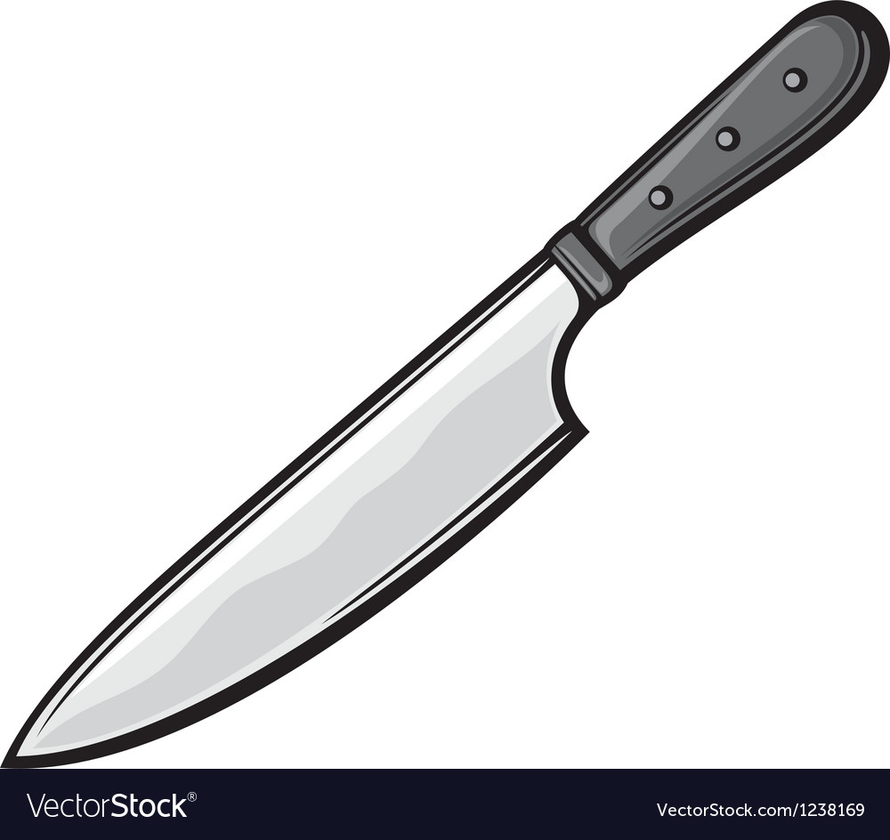 Kitchen knife vector | Price: 1 Credit (USD $1)