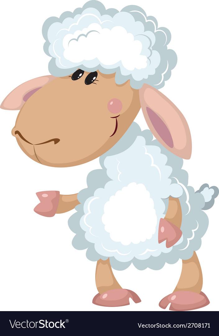 Beautiful sheep vector | Price: 3 Credit (USD $3)