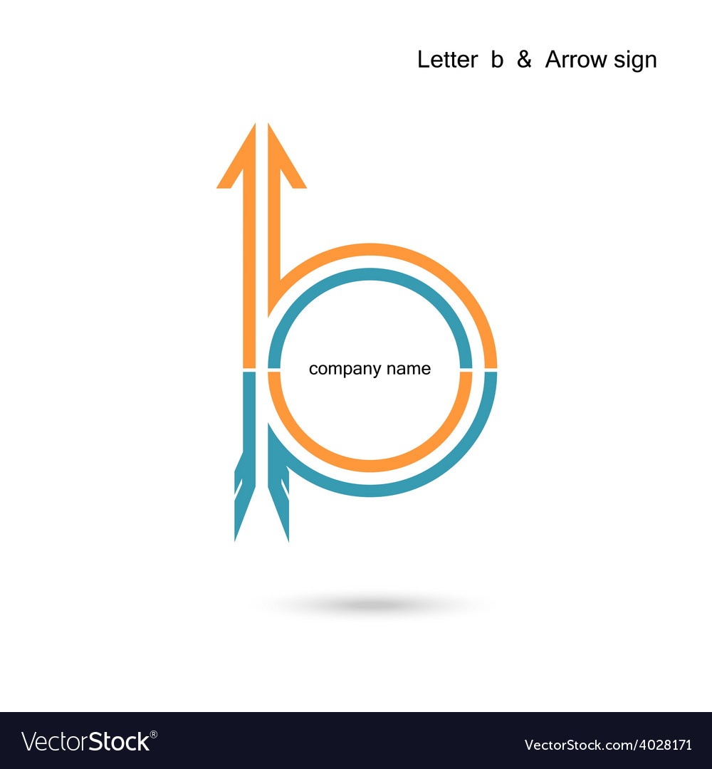 Creative letter b icon abstract logo design vector | Price: 1 Credit (USD $1)