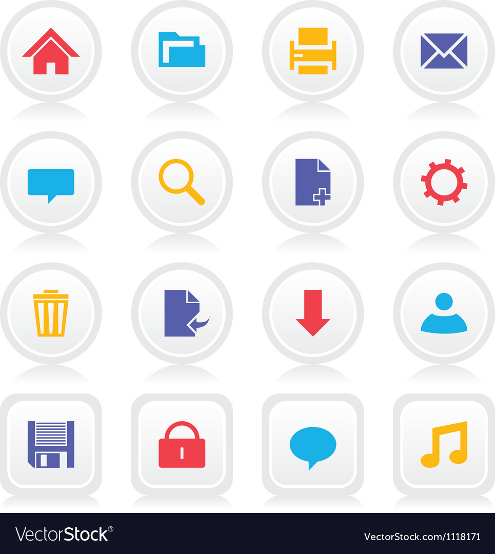 Web icons 2 vector | Price: 1 Credit (USD $1)