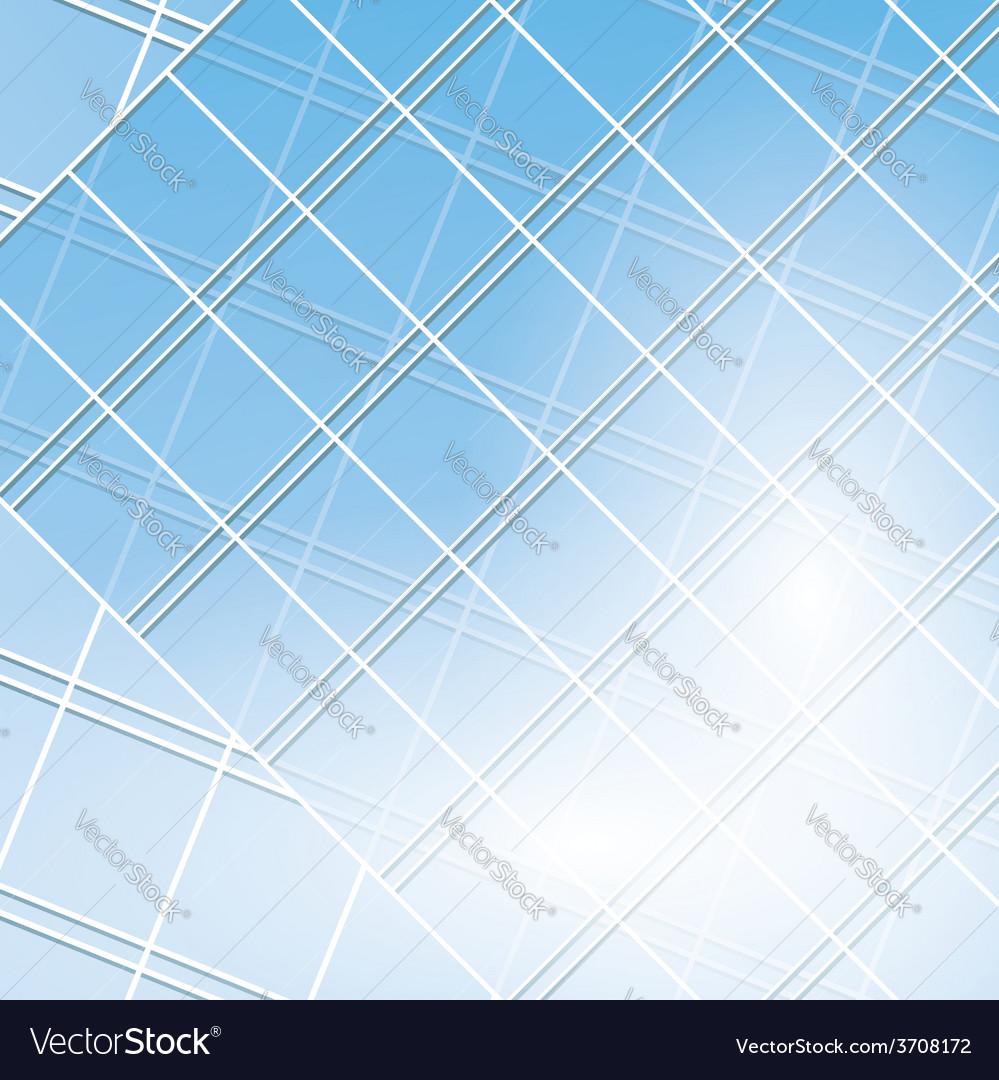Blue windows on modern buildings vector   Price: 1 Credit (USD $1)
