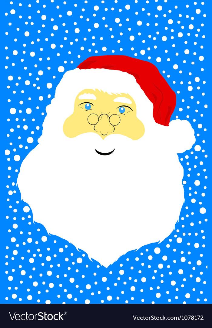Face of santa claus vector | Price: 1 Credit (USD $1)