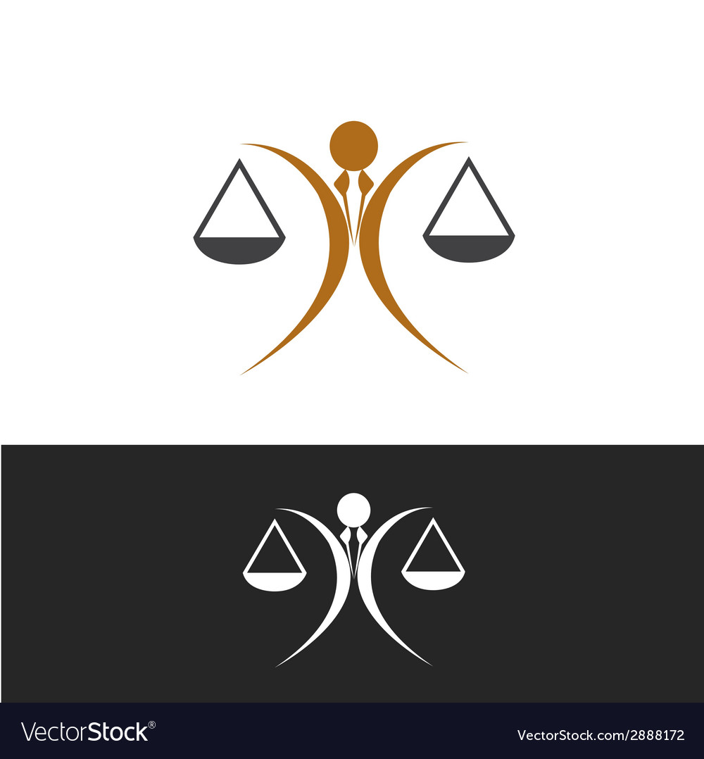Justice icon vector | Price: 1 Credit (USD $1)