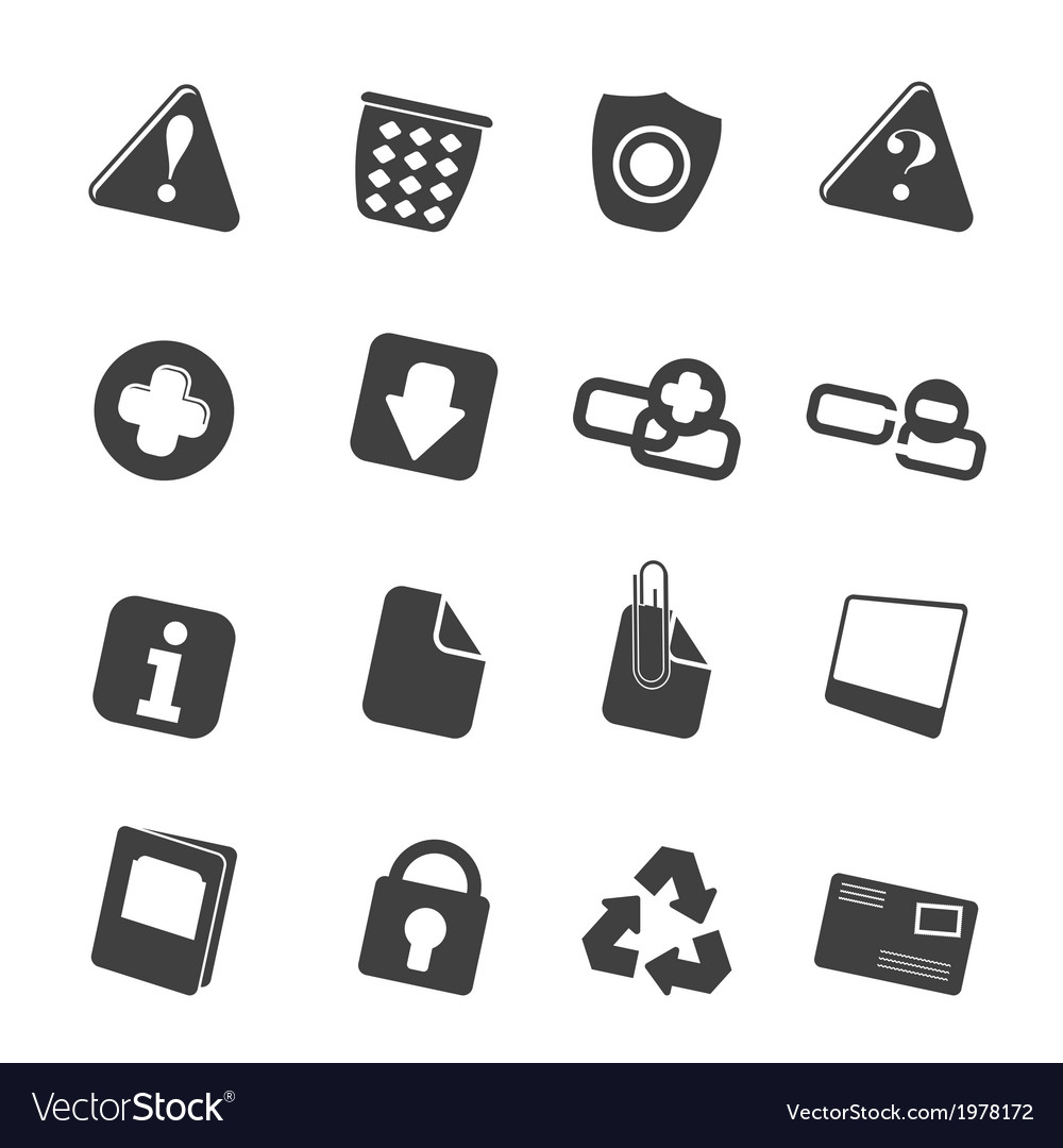 Web site and computer icons vector | Price: 1 Credit (USD $1)