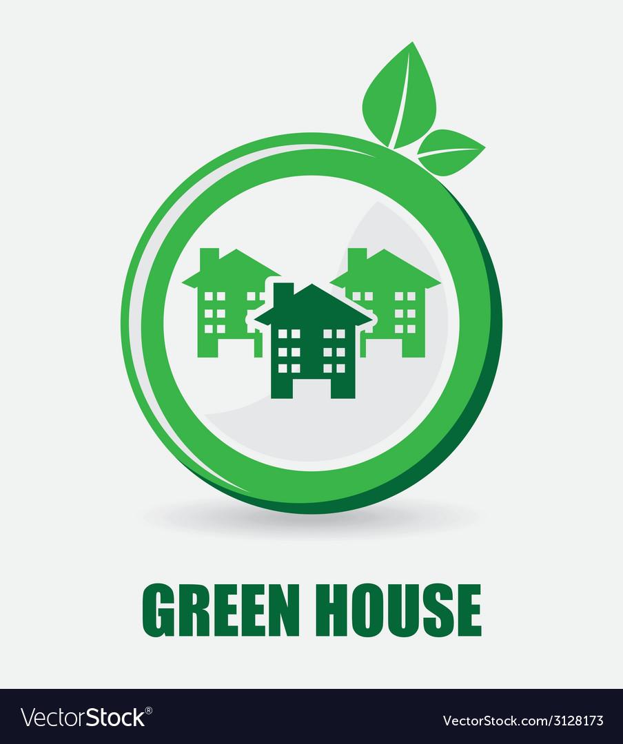Green city design vector | Price: 1 Credit (USD $1)