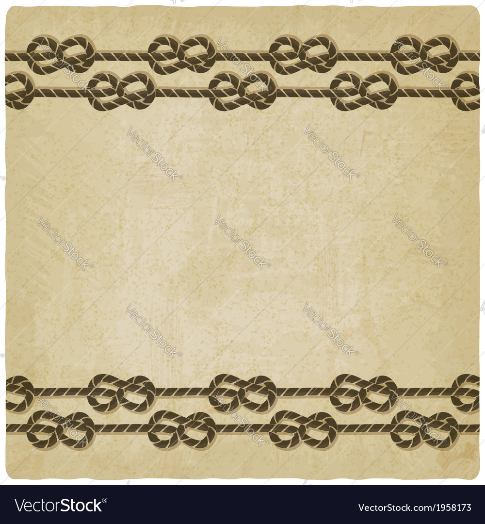 Marine knot background vector | Price: 1 Credit (USD $1)