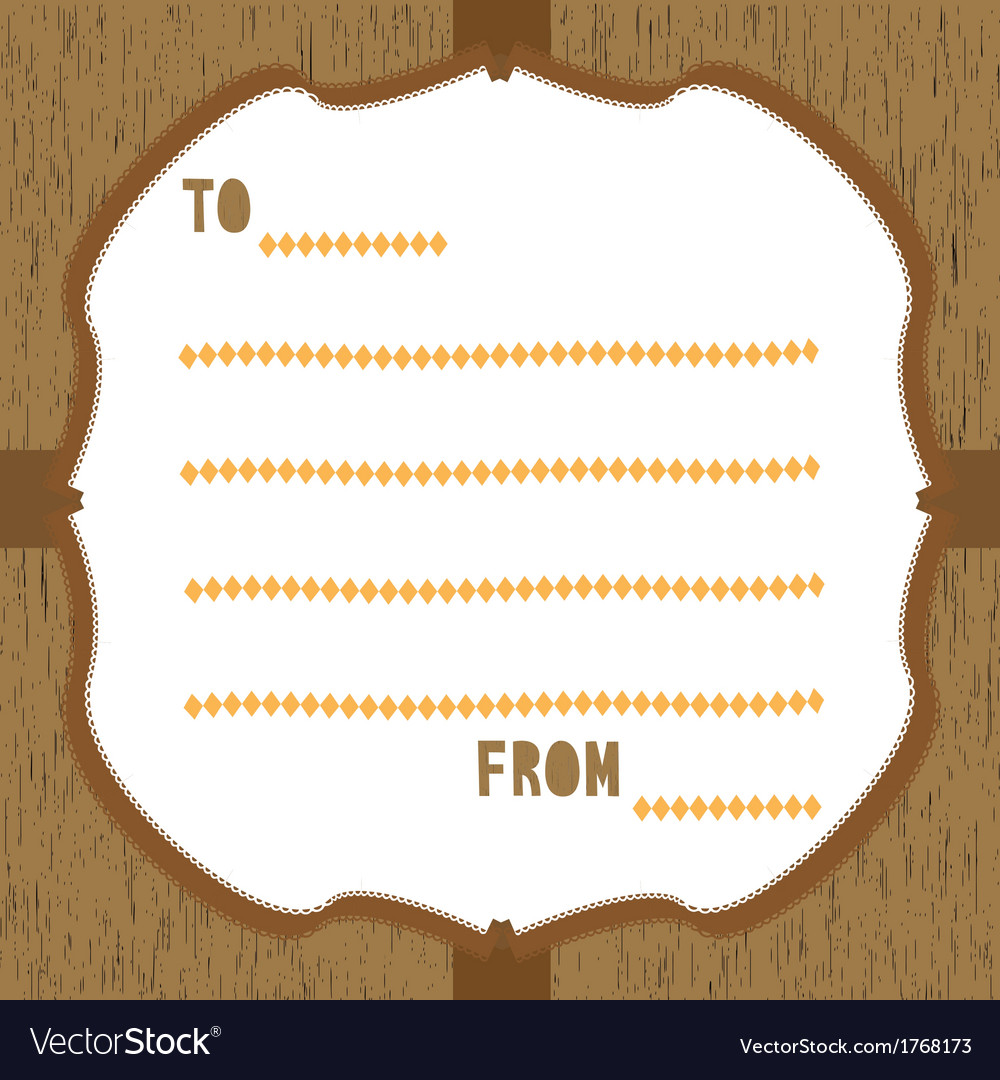 Wood pattern card3 vector | Price: 1 Credit (USD $1)