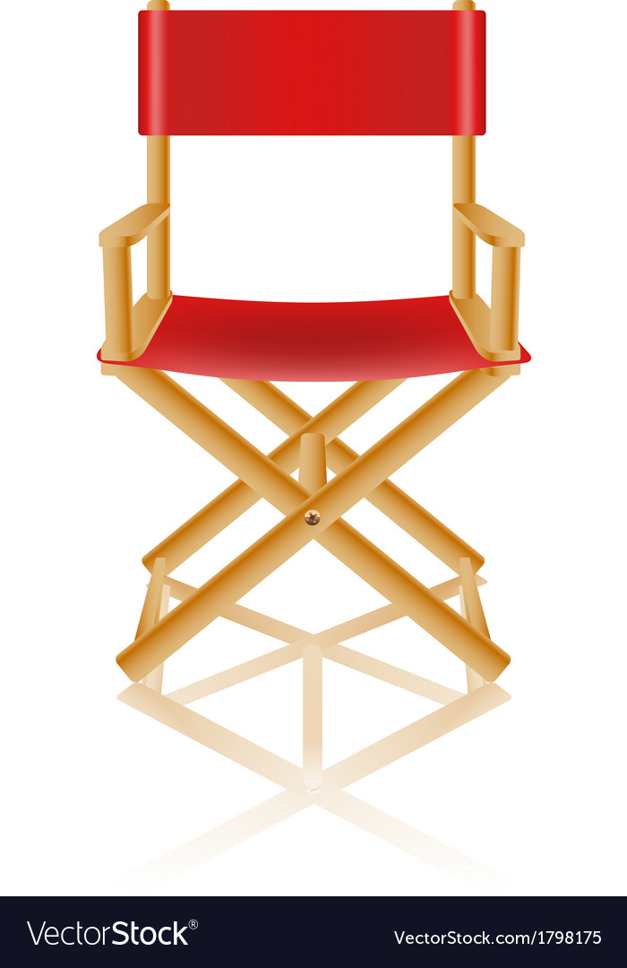 Director chair 01 vector | Price: 1 Credit (USD $1)