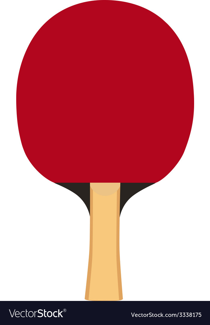 Ping pong paddle vector | Price: 1 Credit (USD $1)