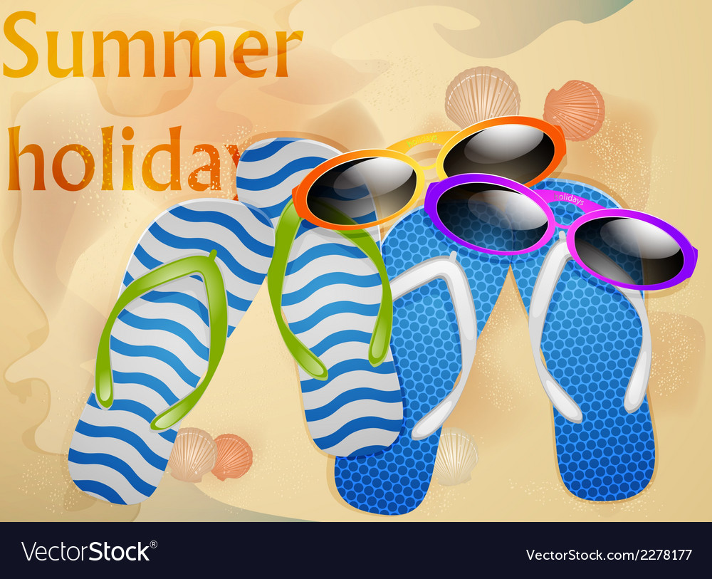 We go on holidays vector | Price: 1 Credit (USD $1)