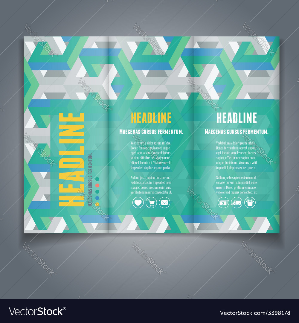 Broshure template vector | Price: 3 Credit (USD $3)