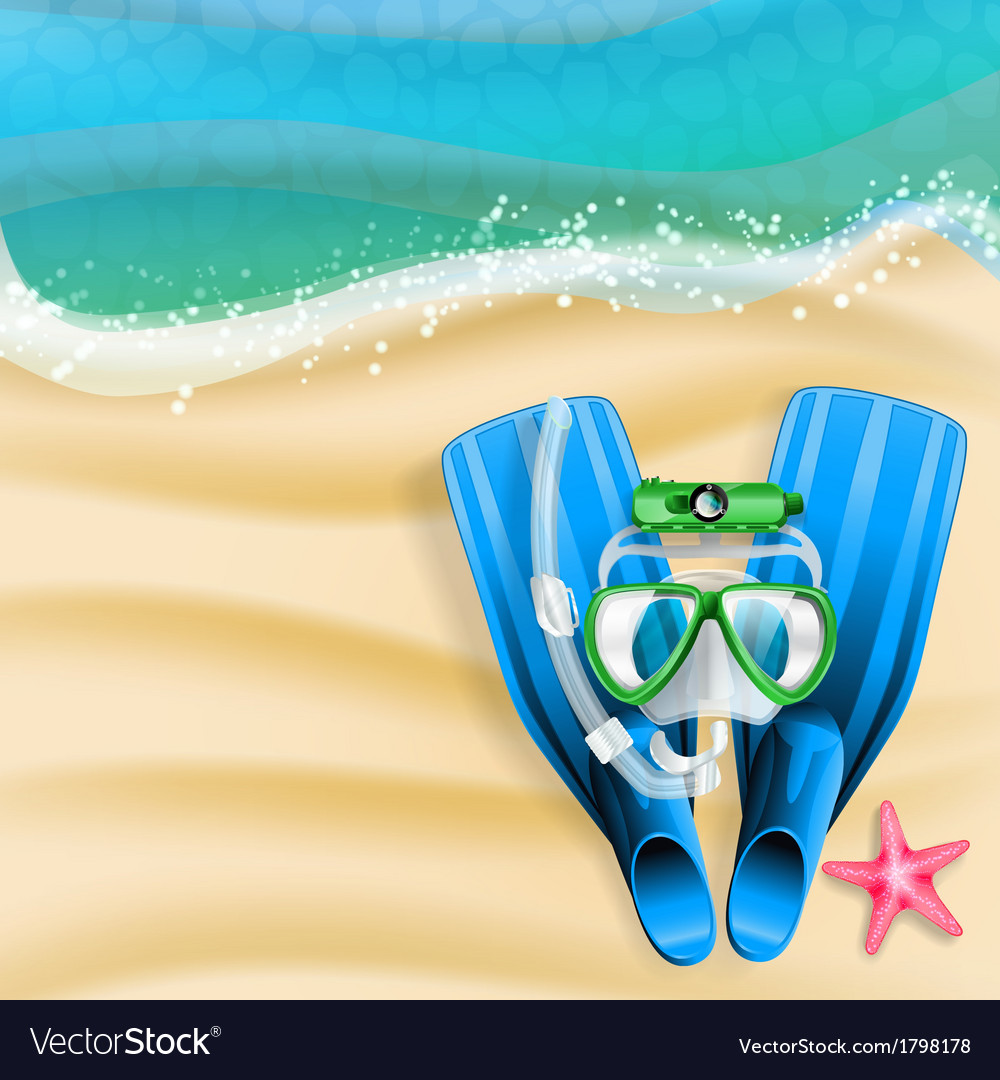 Diving background 01 vector | Price: 1 Credit (USD $1)