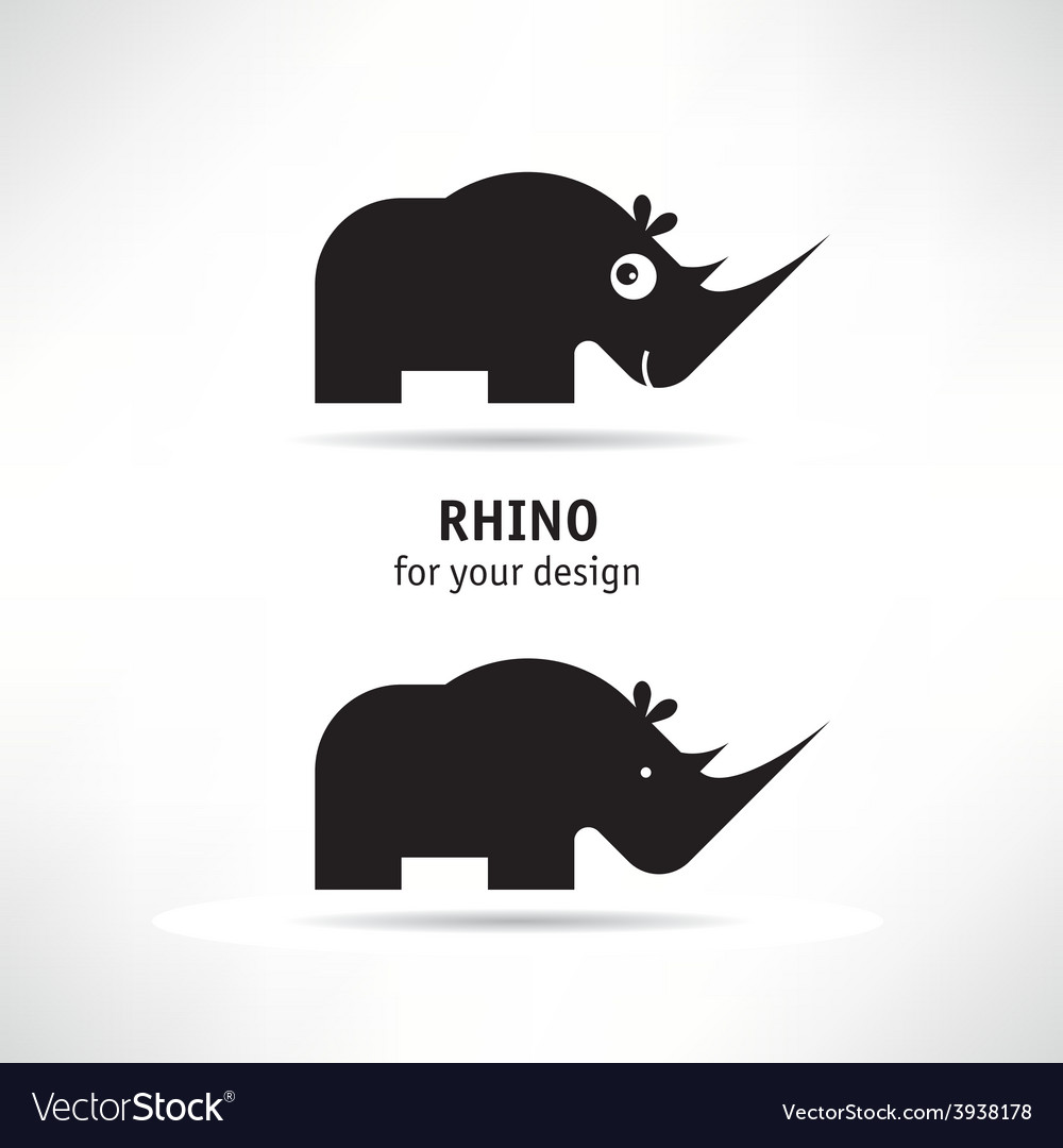Rhino icon vector | Price: 1 Credit (USD $1)
