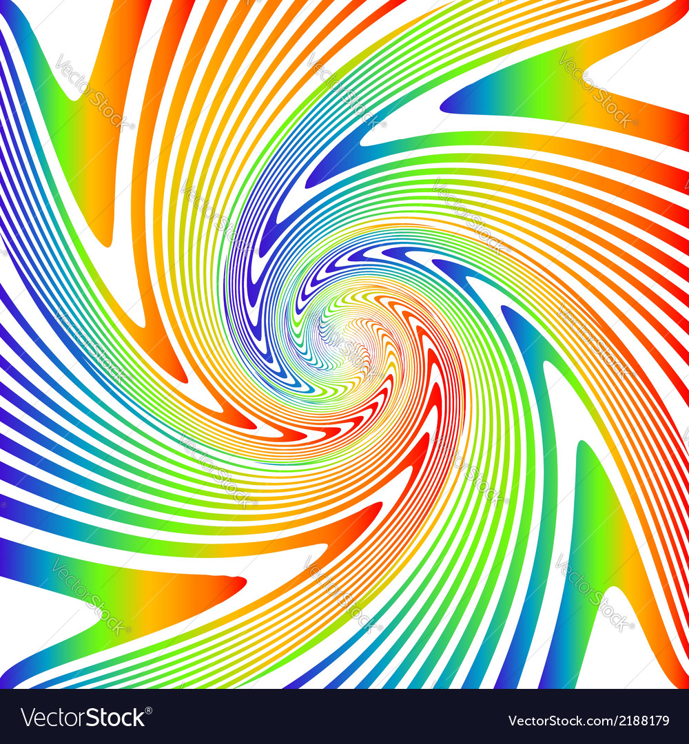 Design multicolor whirl movement background vector | Price: 1 Credit (USD $1)