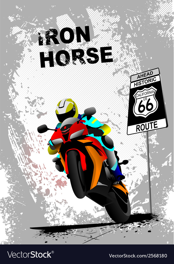 Iron horse 005 vector | Price: 1 Credit (USD $1)