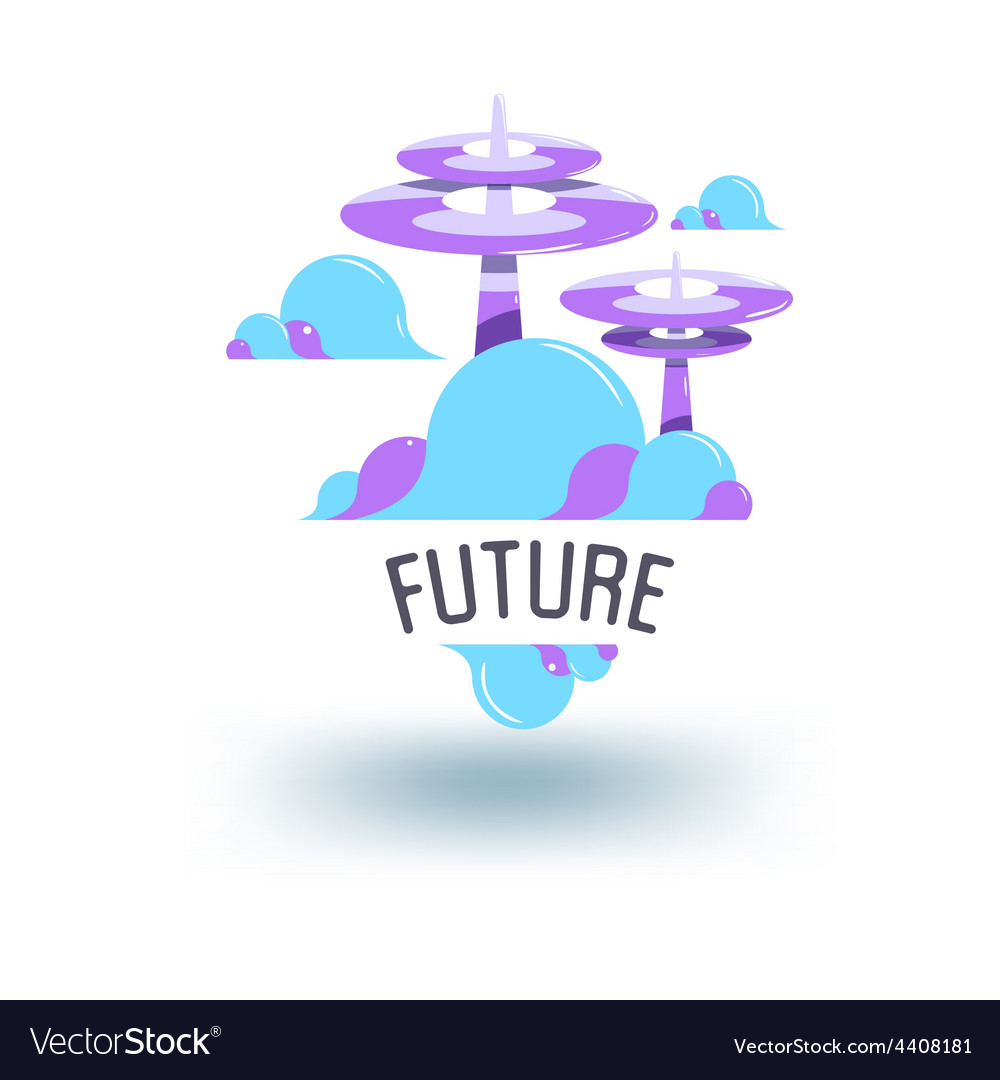 Abstract object of the future vector | Price: 1 Credit (USD $1)