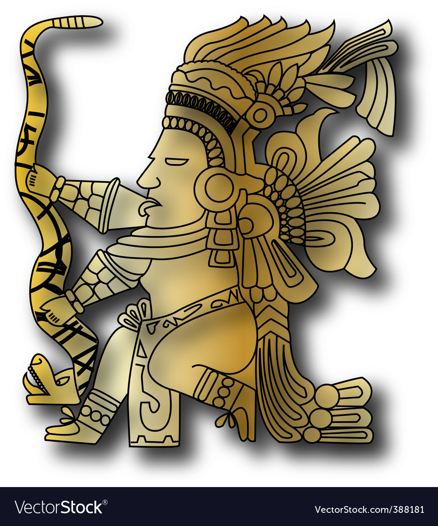 mayan and inca tribal vector | Price: 1 Credit (USD $1)