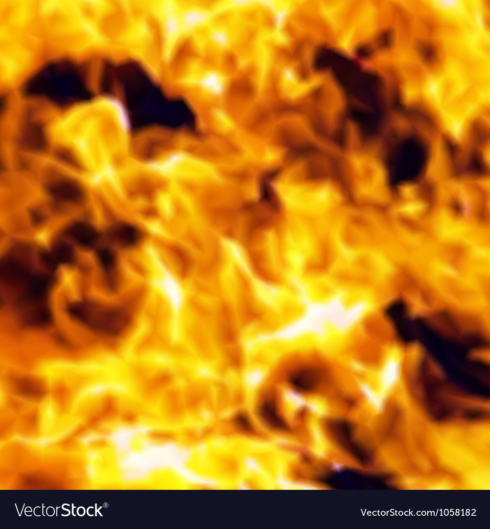 Burn flame fire seamless background vector | Price: 1 Credit (USD $1)