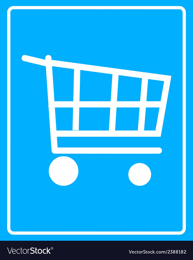 Cart on wheels vector | Price: 1 Credit (USD $1)