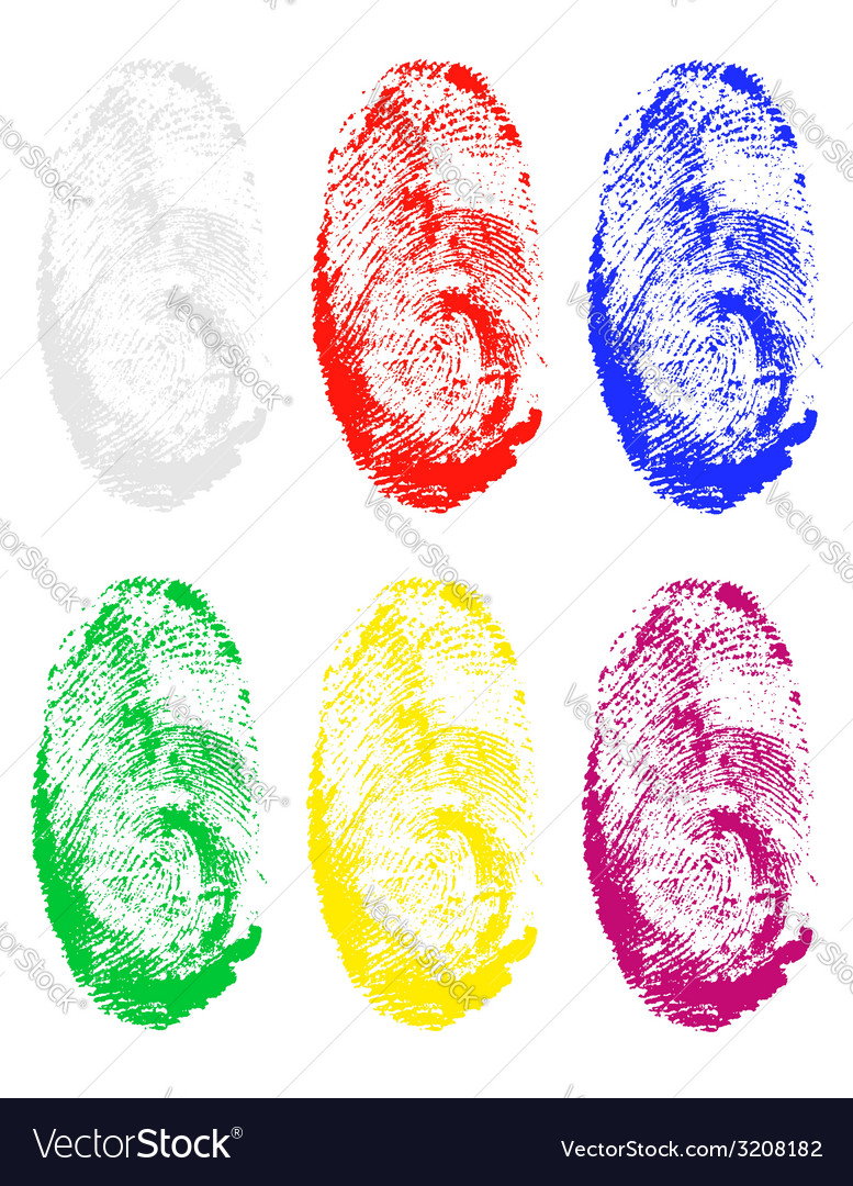 Fingerprint 03 vector | Price: 1 Credit (USD $1)