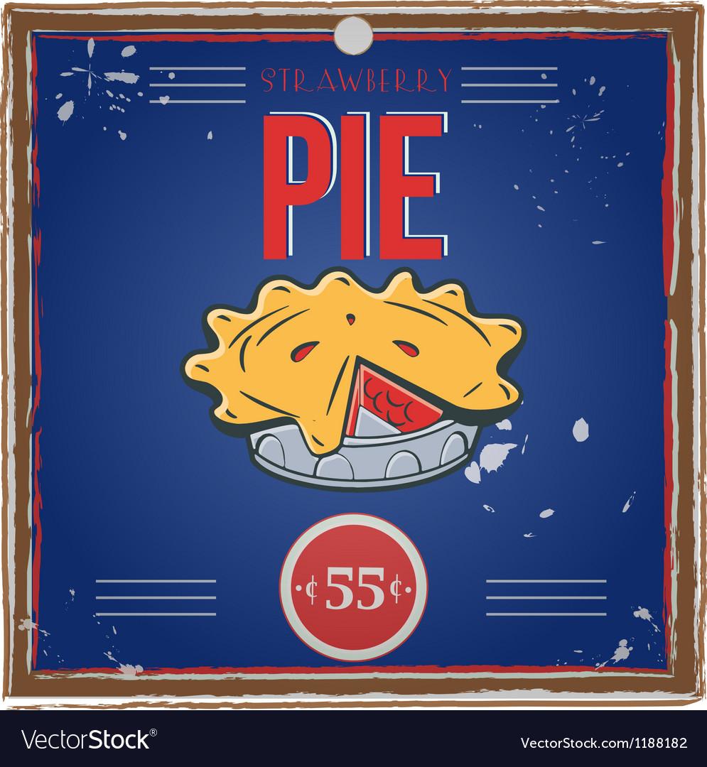 Pieposter vector | Price: 1 Credit (USD $1)
