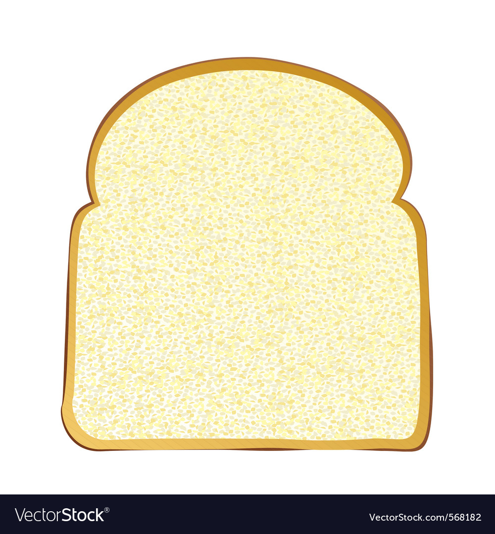 Wholemeal white bread vector | Price: 1 Credit (USD $1)