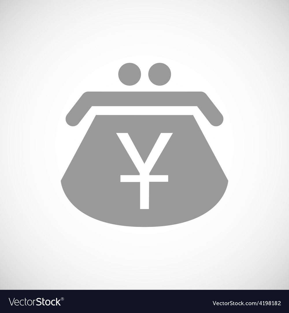 Yen black icon vector | Price: 1 Credit (USD $1)
