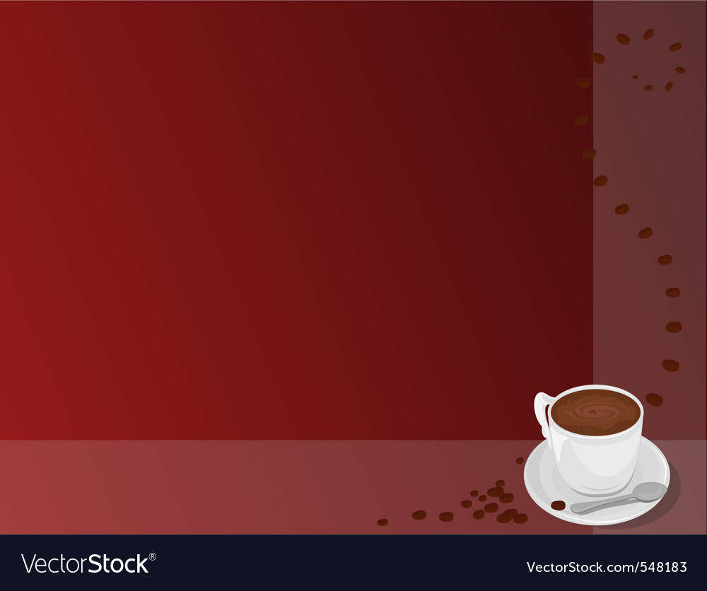 Coffee pattern vector | Price: 3 Credit (USD $3)