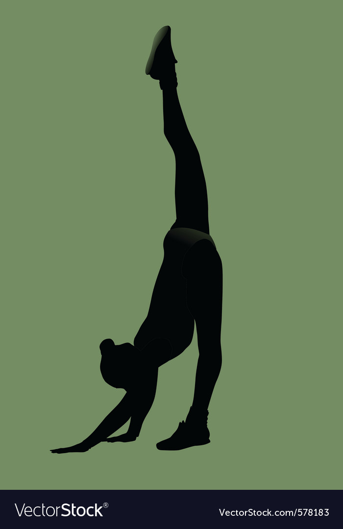 Gymnastics vector | Price: 1 Credit (USD $1)