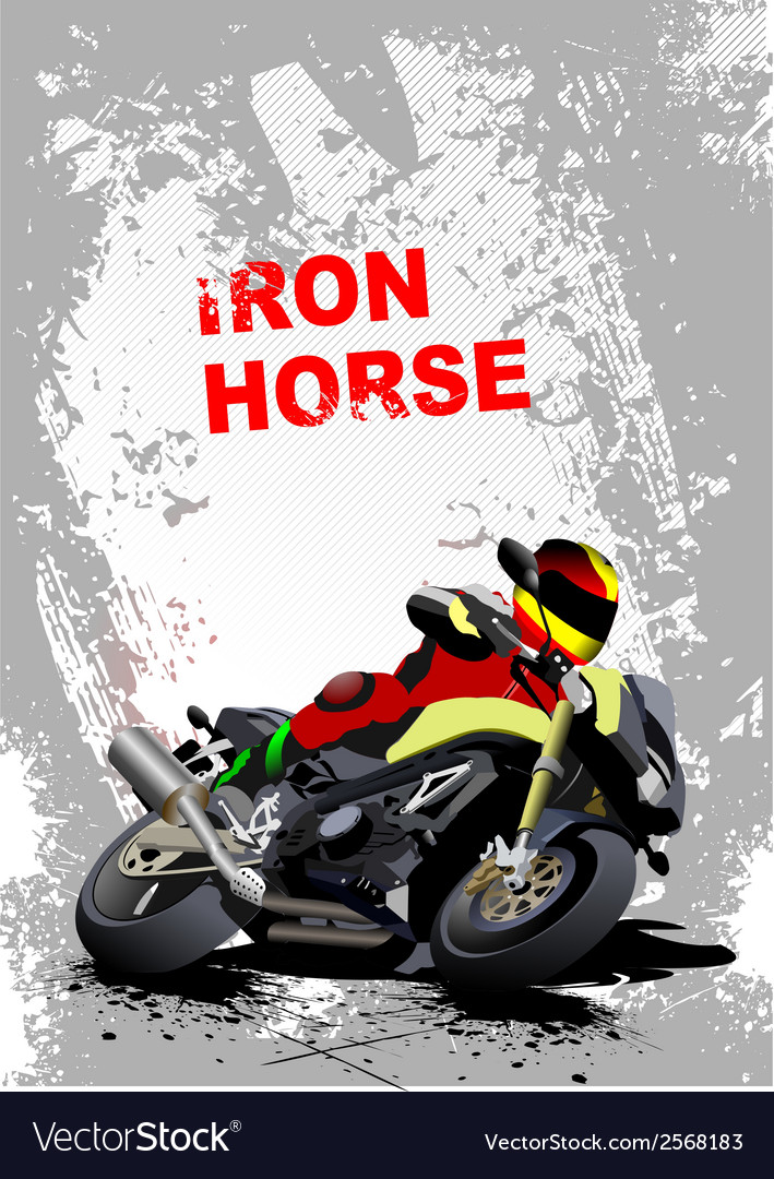Iron horse 006 vector | Price: 1 Credit (USD $1)