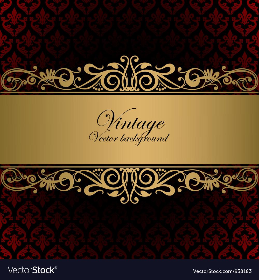 Vintage vector | Price:  Credit (USD $)
