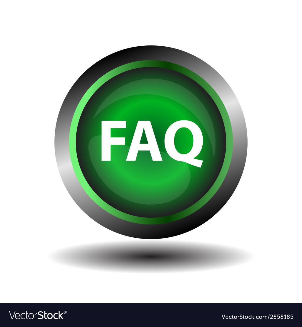 Faq icon vector   Price: 1 Credit (USD $1)