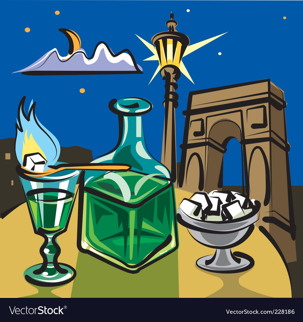 Absinthe vector | Price: 3 Credit (USD $3)