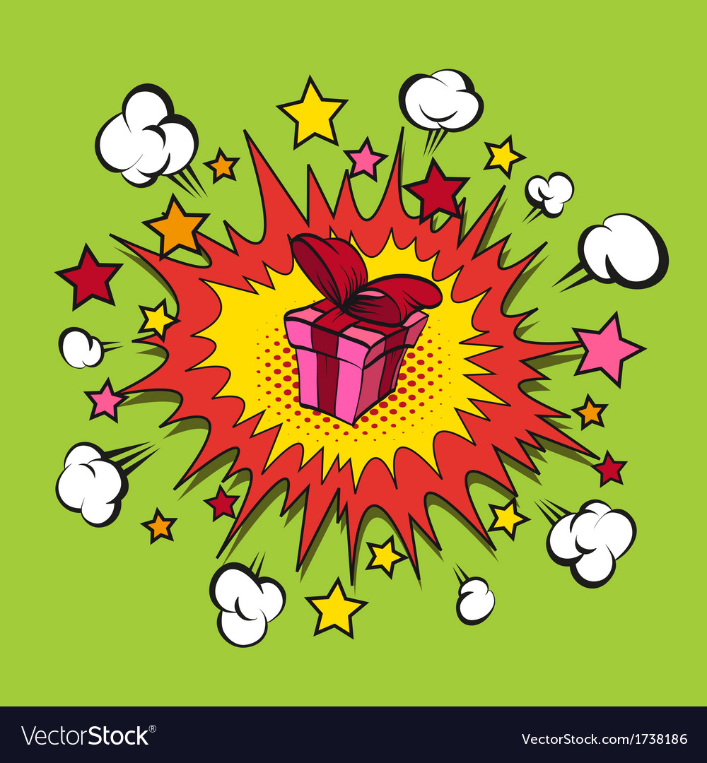 Boom presents surprise vector | Price: 1 Credit (USD $1)